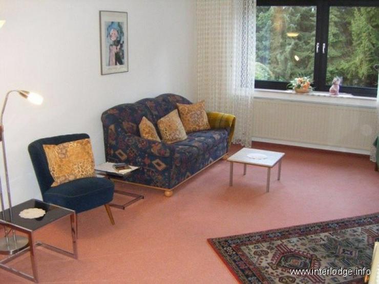 INTERLODGE Möblierte helle Wohnung mit Loggia in ruhiger Lage in Bochum-Eppendorf - Wohnen auf Zeit - Bild 1