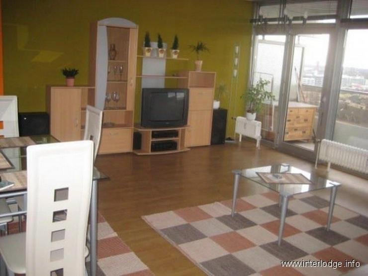 interlodge wohnen im himmel von k ln m blierte wohnung mit balkon und garage in k ln in. Black Bedroom Furniture Sets. Home Design Ideas