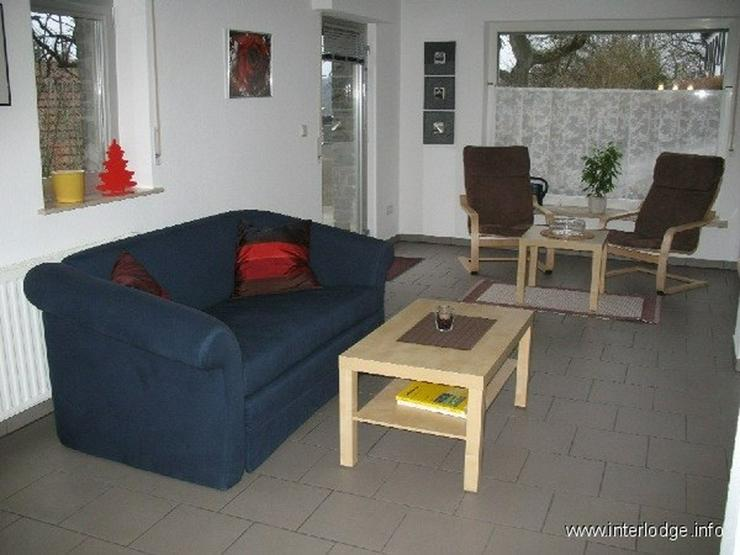Bild 3: INTERLODGE Möblierte Komfortwohnung mit Terrasse, Garten und eigenem Eingang in Essen-Ket...