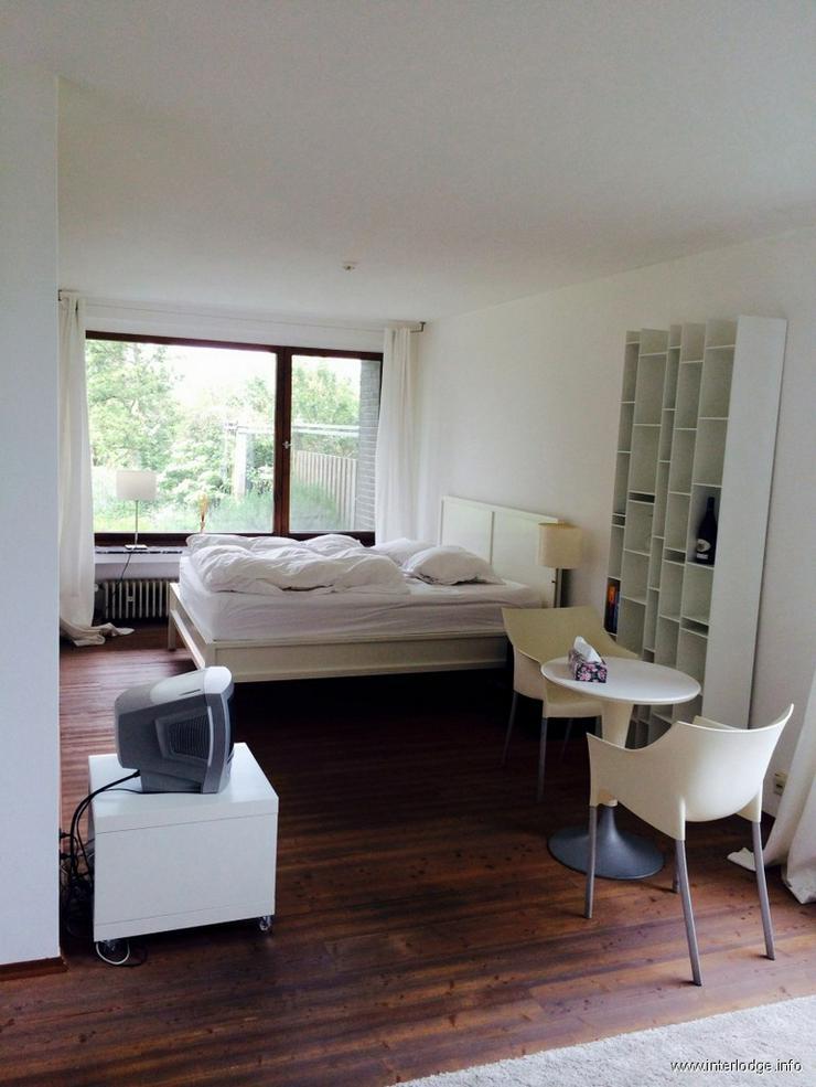Bild 3: INTERLODGE Hotelalternative, möbliertes Apartment, Rheinblick, Stellplatz in Düsseldorf ...