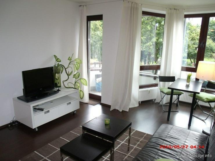 INTERLODGE Schick möblierte Businesswohnung mit Balkon in Essen-Südviertel - gegenüber ... - Wohnen auf Zeit - Bild 1