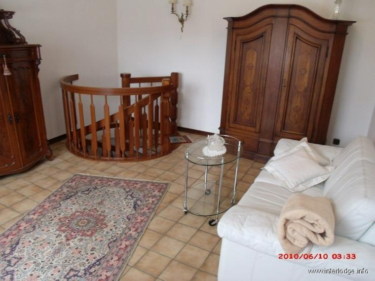 Bild 4: INTERLODGE Komplett möblierte elegante kleine Maisonette-Wohnung in Essen-Steele