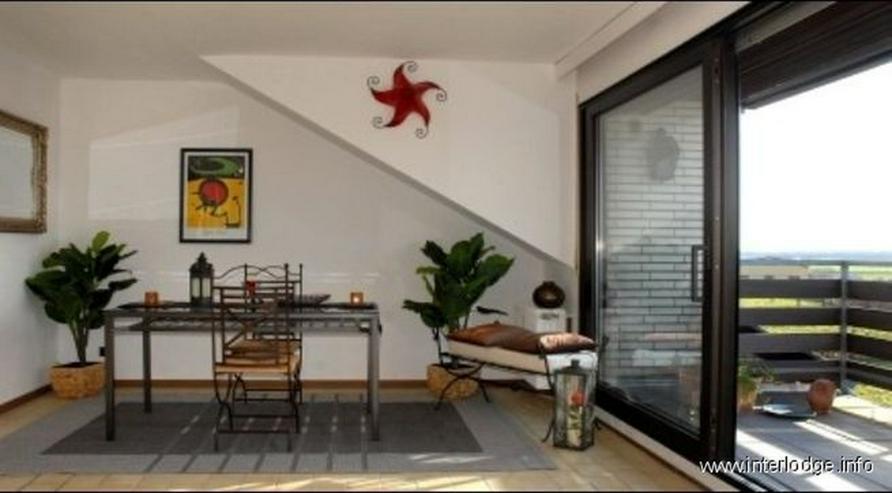 INTERLODGE Möblierte Komfortwohnung mit Loggia und Garage in grüner Lage in Kaarst-Vorst - Wohnen auf Zeit - Bild 1