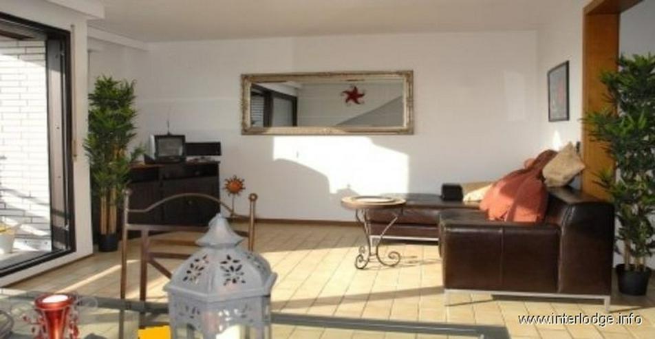 Bild 2: INTERLODGE Möblierte Komfortwohnung mit Loggia und Garage in grüner Lage in Kaarst-Vorst