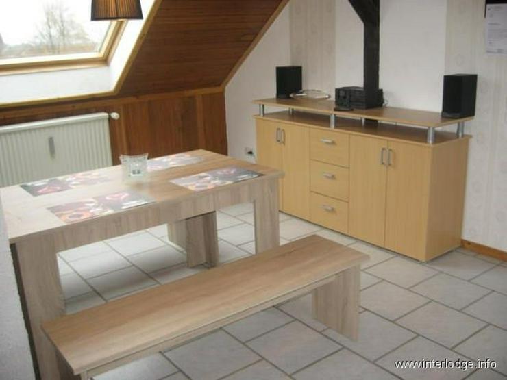 Bild 2: INTERLODGE Schöne, helle und modern möblierte Dachgeschoßwohnung im 2. OG in Witten-Sto...