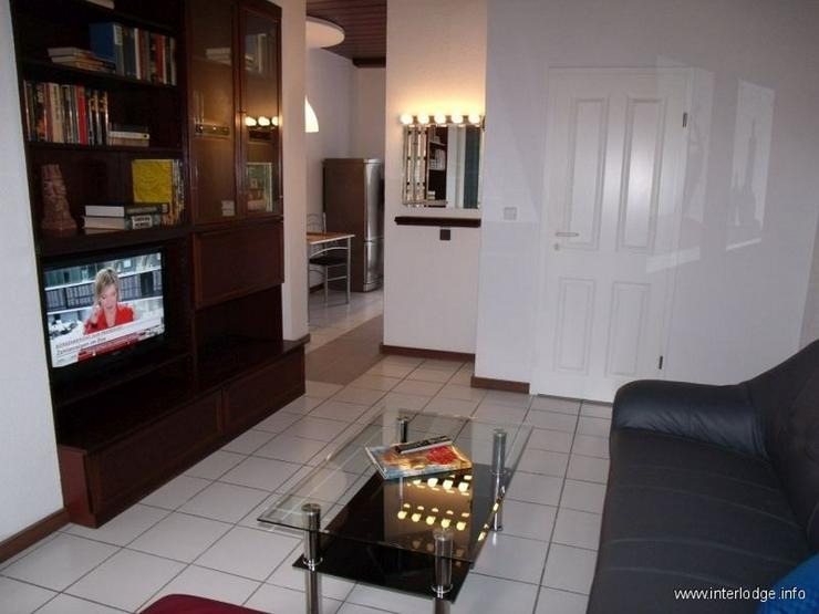 Bild 3: INTERLODGE Modern und schick möblierte Wohnung mit Balkon in Duisburg-Innenstadt (Dellvie...
