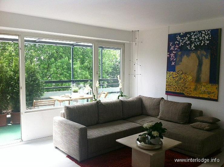 Bild 2: INTERLODGE Möblierte Komfortwohnung mit 2 Terrassen in der besten Lage von Düsseldorf-Ka...