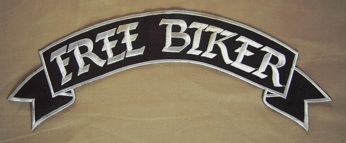Aufnäher FREE BIKER - Accessoires & Zubehör - Bild 1