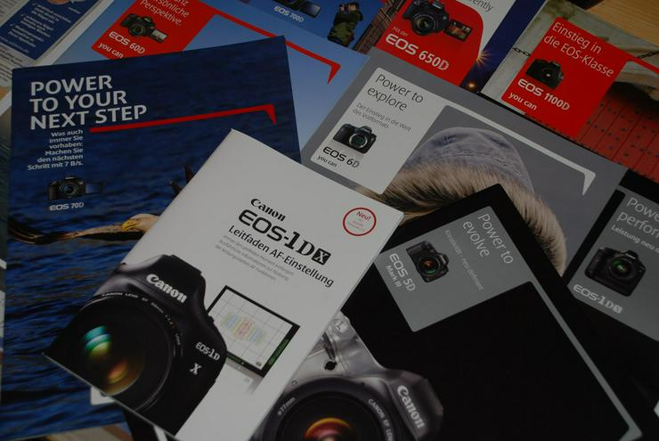 Canon - Eos - Digitalkamera-Prospekte