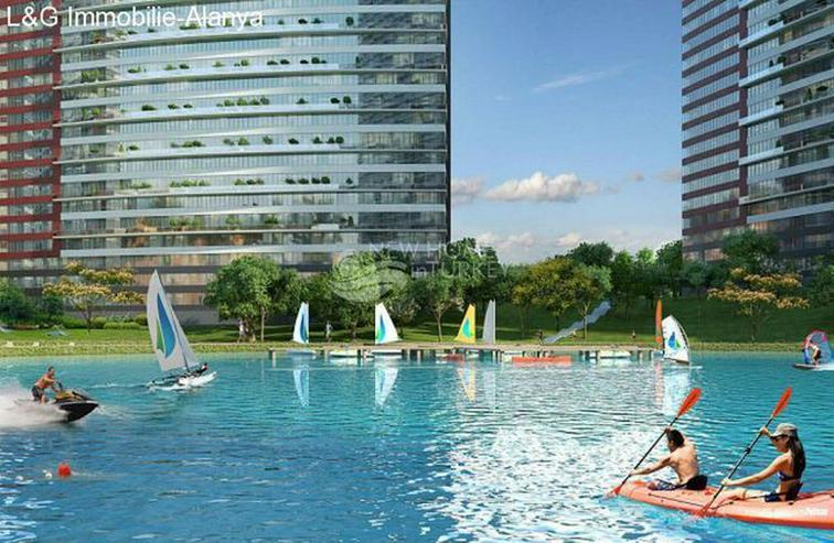 Bild 6: Wohnungen in einem Luxus Komplex auf der Europäischen Seite von Istanbul zu verkaufen.