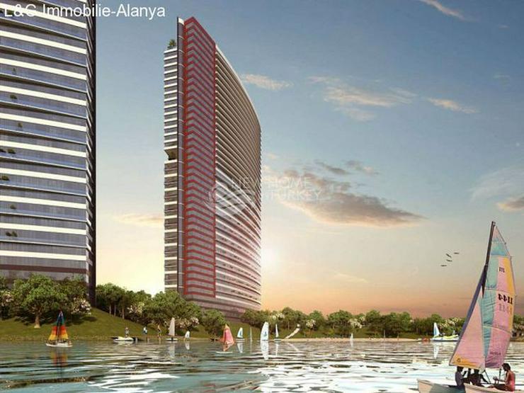 Bild 3: Wohnungen in einem Luxus Komplex auf der Europäischen Seite von Istanbul zu verkaufen.