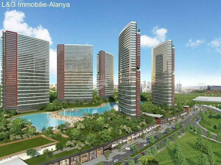 Bild 2: Wohnungen in einem Luxus Komplex auf der Europäischen Seite von Istanbul zu verkaufen.