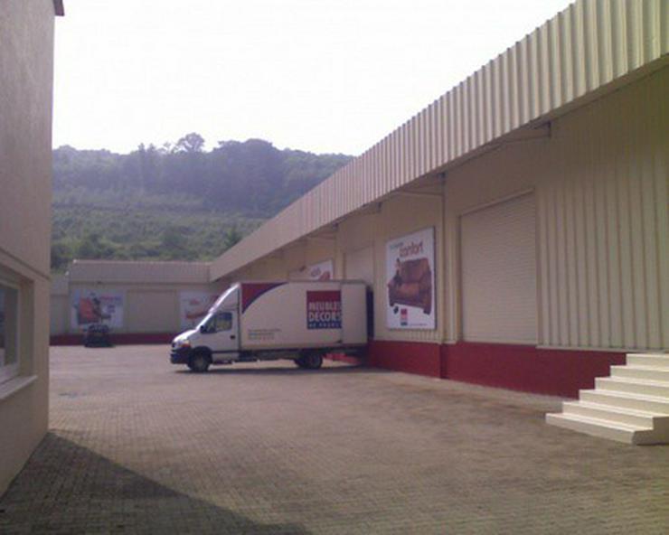Bild 3: Lager-, Produktions- und Verkaufshalle in Durchgangslage an der Deutsch-Französischen Gre...