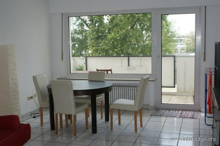INTERLODGE Modern möblierte Wohnung mit Balkon in der Dortmunder Innenstadt - Wohnen auf Zeit - Bild 1