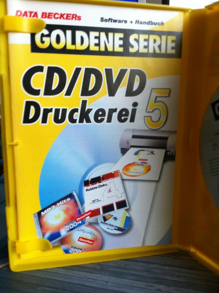 CD/DVD Druckerei 5 Data Becker - Grafik, Audio, Design & Multimedia - Bild 1
