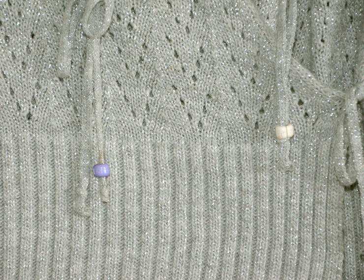 Bild 3: Wickeljacke in grau/silber
