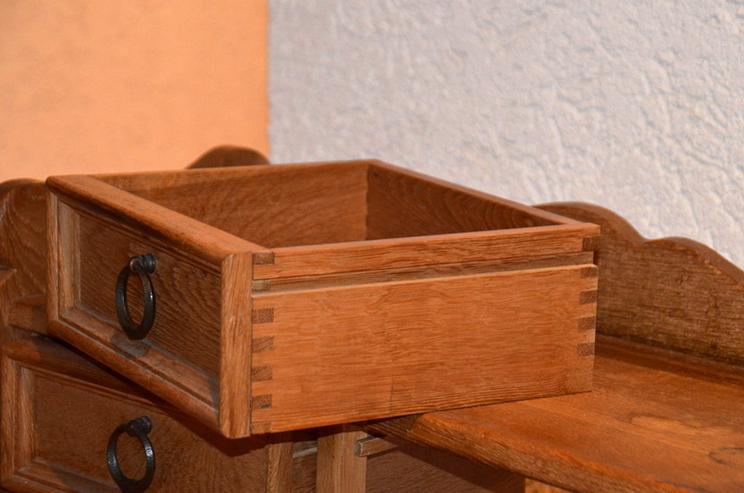 Bild 4: Dielenschrank,Schubkasten Schrank,Eiche-massiv