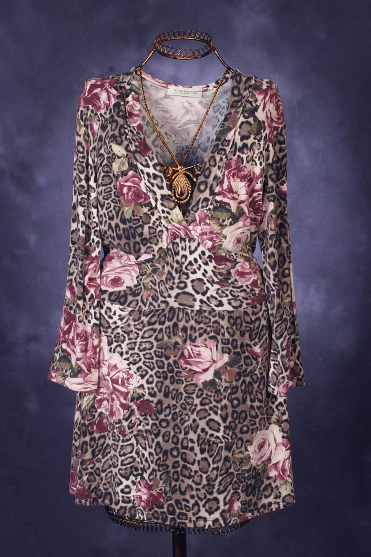 Bluse Long-Shirt Gr. 38