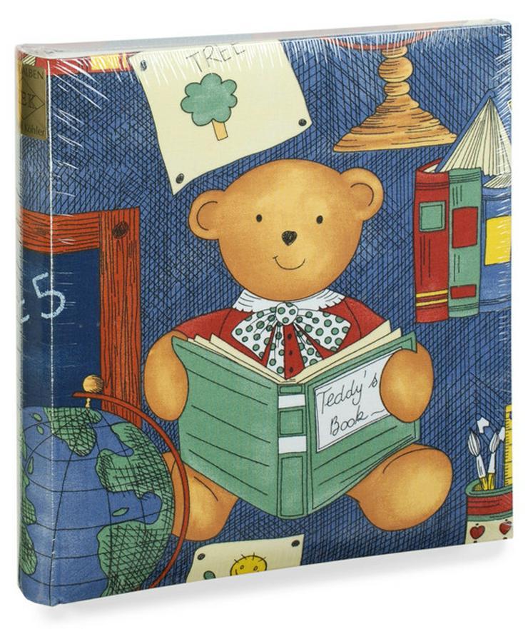 Fotoalben für Kinder,Textilalben Teddy und Gänse