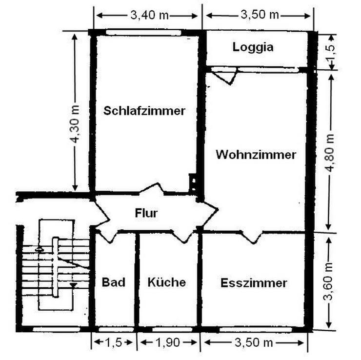 Bild 3: Erdgeschosswohnung für Kapitalanleger