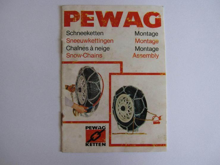 Bild 2: PEWAG Schnellmontageschneeketten 14er