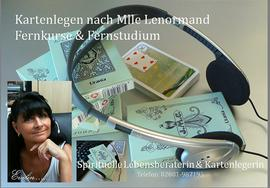 Lenormand Fernstudium Evelin Thomas Kartenlegen - Bildung & Erziehung - Bild 1
