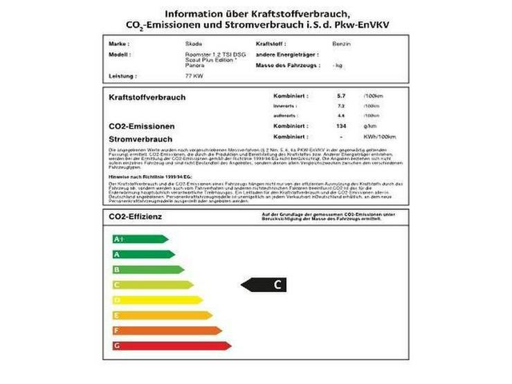 Bild 2: SKODA Roomster 1.2 TSI DSG Scout Plus Edition * Panora