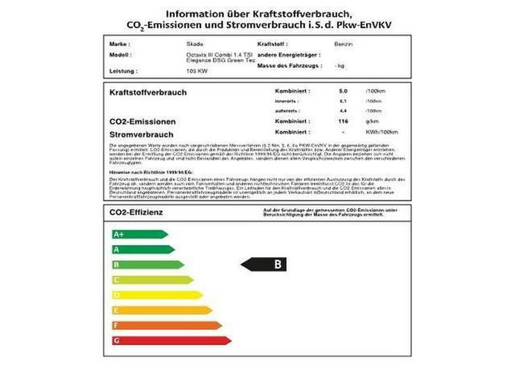 Bild 2: SKODA Octavia III Combi 1.4 TSI Elegance DSG Green Tec