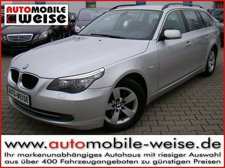 BMW 520d Touring Navi Xenon Sportsitze Xenon Klima+ - 5er Reihe - Bild 1