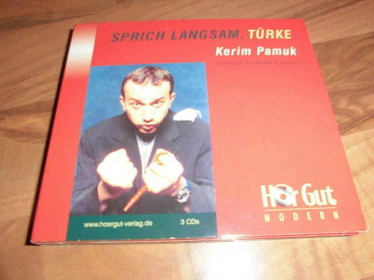 Hörbuch-Sprich langsam, Türke-von Kerim Pamuk