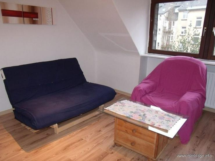 INTERLODGE Günstige, möblierte Dachgeschosswohnung zentral gelegen in Hagen - Altenhagen - Wohnen auf Zeit - Bild 1