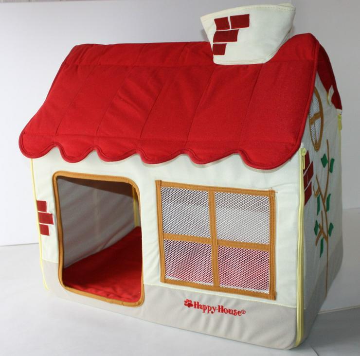 Hundehütte House Design bunt - Körbe, Betten & Decken - Bild 1
