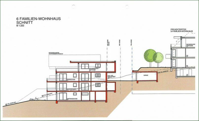 Seltene Gelegenheit: Baugenehmigung für 11 Wohnungen liegt vor - Grundstück kaufen - Bild 1
