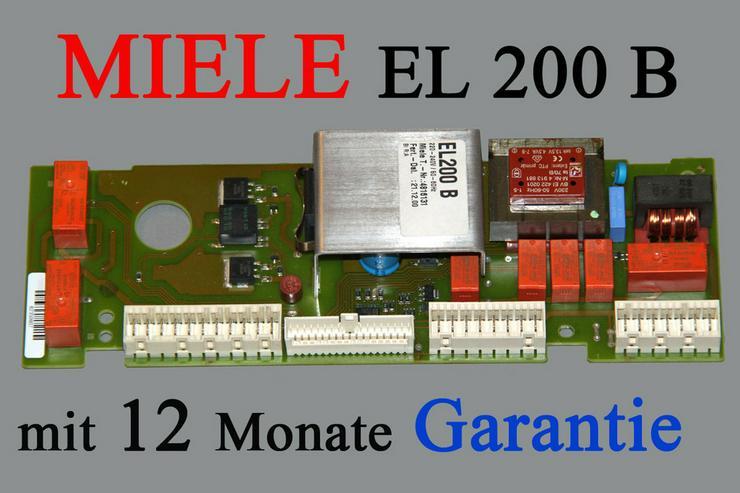 Miele Steuerelektronik EL200B mit Garantie - Waschmaschinen - Bild 1
