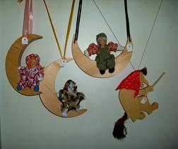 Holz Monde Hexe - Spielzeug f�r Babys - Bild 1