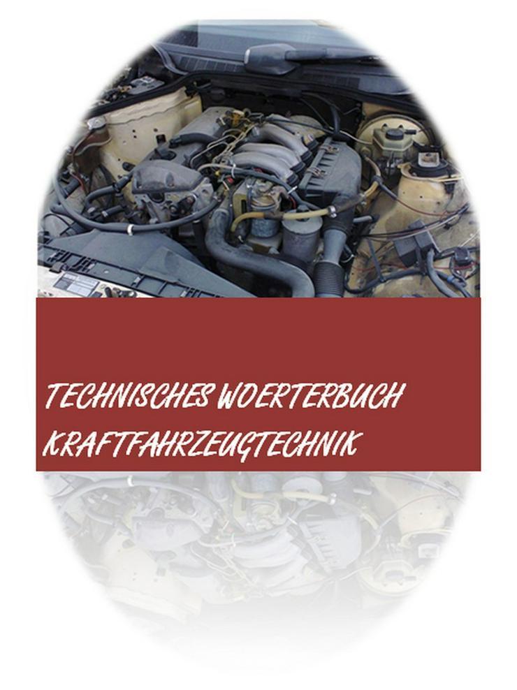 Kraftfahrzeugtechnisches Woerterbuch englisch