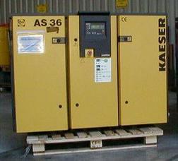 Kaeser AS 36 Schraubenkompressor - Holzverarbeitung - Bild 1