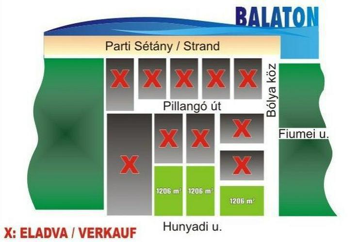 Bild 4: Baugrundstücke in einmaliger Balatonnähe