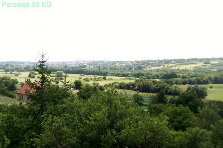Bild 2: Baugrundstück mit Panoramablick