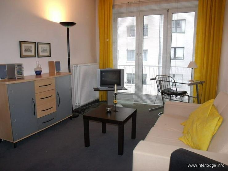 Bild 3: INTERLODGE Modern möblierte Etagenwohnung mit Balkon in bester Lage in Düsseldorf-Düsse...