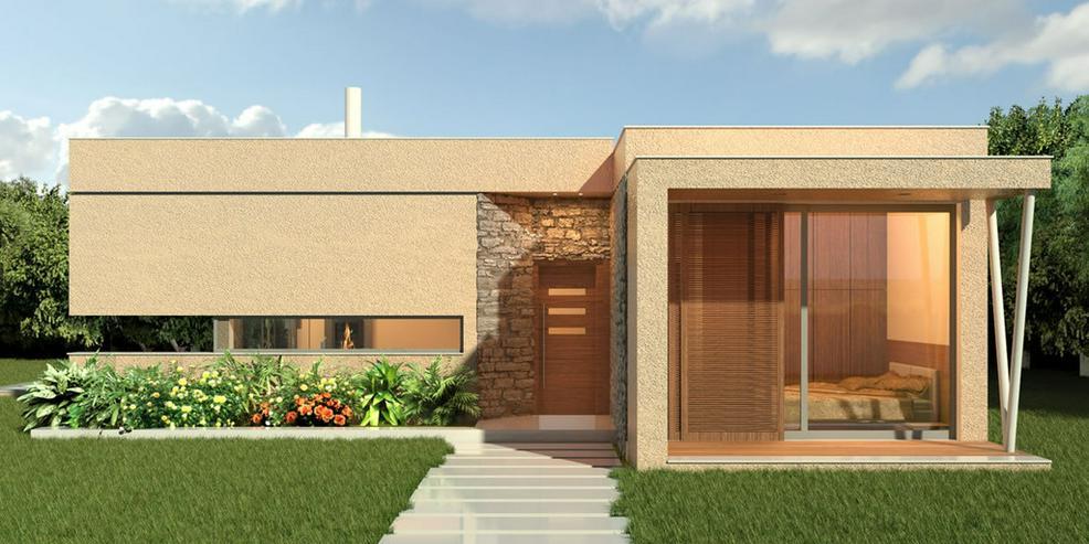 Moderne Villa im mediterranen Stil - Bild 1