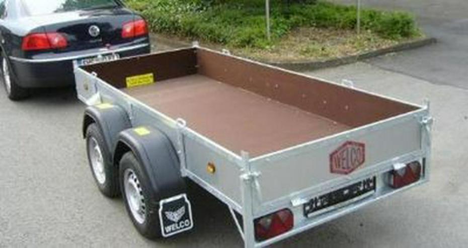 Bild 4: PKW Autotransporter mieten Anhängervermietung
