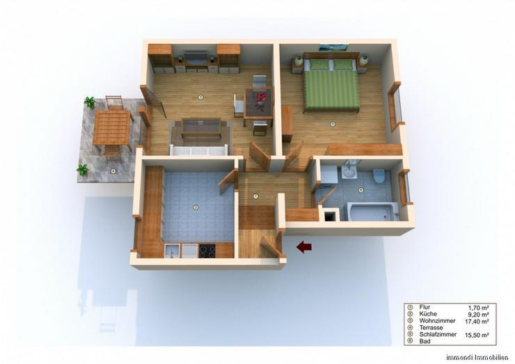 ***Elegante&Helle 2-Zi.-EG-Whg. mit EBK & Terrasse in Weinsberg *** - Wohnung kaufen - Bild 1