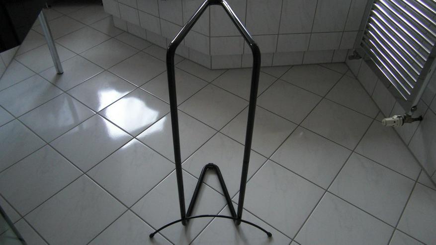 Bild 3: Bad Handtuchhalter Stangen schwarz, Standmodell