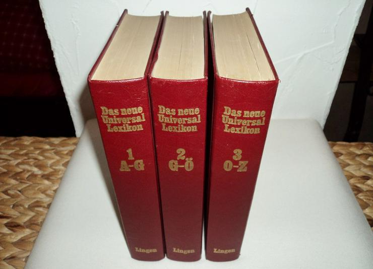 Antikes Universal-Lexikon in 3 Bänden, 1971!