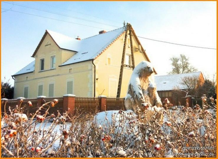 HERRSCHAFTLICHES Anwesen, Scheune, Teich-Weide und Wald noch möglich, Erholung PUR auf - Haus kaufen - Bild 1