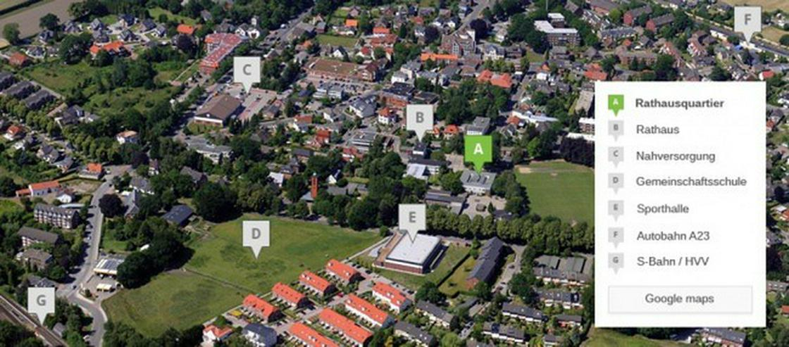 reserviert - NEUBAU - Penthousewohnung im Herzen Halstenbeks - provisionsfrei - Wohnung kaufen - Bild 1