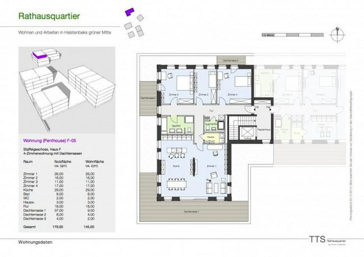 Bild 4: reserviert - NEUBAU - Penthousewohnung im Herzen Halstenbeks - provisionsfrei