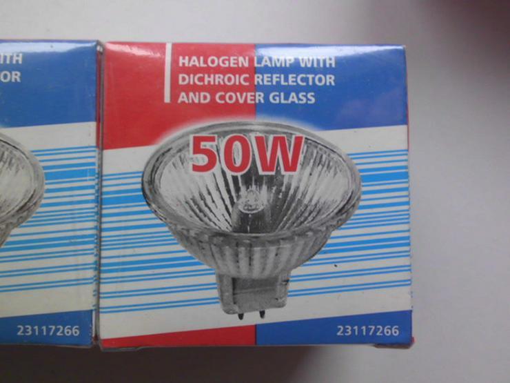 Bild 2: Halogenlampe mit Kaltlichtreflektor