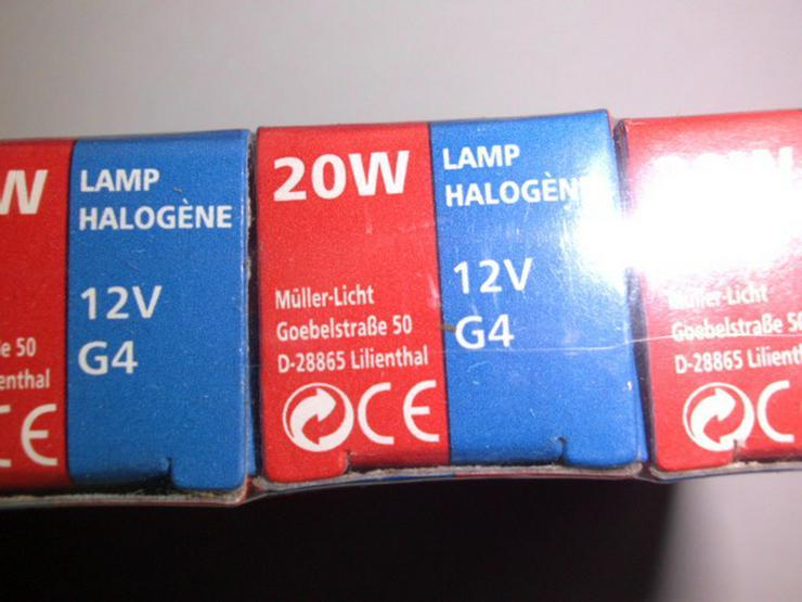 Bild 3: Halogenlampen, 20 Watt